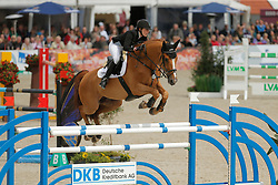 Meyer, Janne-Friederike, Goja<br /> Hagen - Horses and Dreams 2015<br /> Grosser Preis der DKB - DKB-Riders Tour<br /> © www.sportfots-lafrentz.de/Stefan Lafrentz