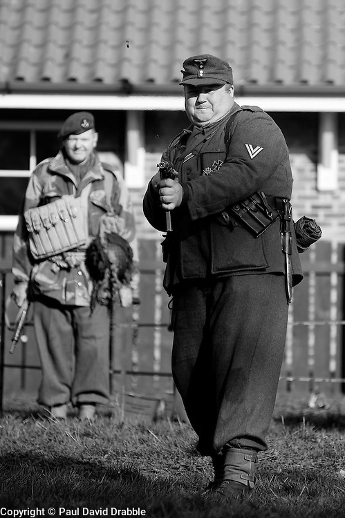 Northallerton Wartime weekend charity fundraiser for Help for Heros and Ben Hyde Memorial Trust 9th &10th Ocober 2010 .Images © Paul David Drabble