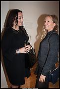 CARINA STREBEL; ADELE UZBEKOVA, Born in the USSR, Design exhibition opening. Gallery Elena Shchukina, Beauchamp Place, Knightsbridge. London. 15 September 2014.