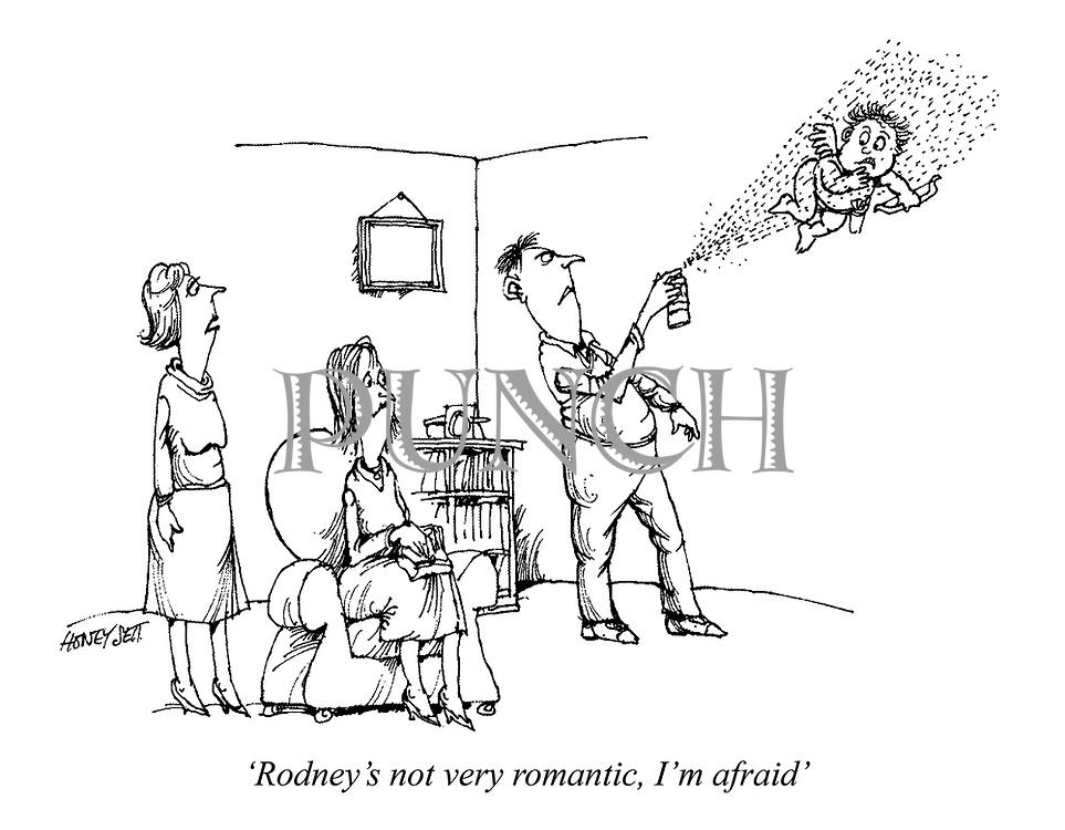 'Rodney's not very romantic, I'm afraid'