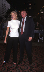 Aug 01, 1996; New York, NY, USA; Actress MARLA MAPLES & husband DONALD TRUMP. (Credit Image: © Nancy Kaszerman/ZUMAPRESS.com)