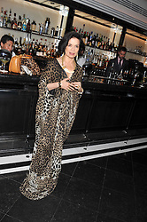 BIANCA JAGGER at a dinner to celebrate the 30th anniversary of Le Caprice, Arlington Street, London SW1 on 4th October 2011.