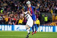 FC Barcelona's VfL Borussia Monchengladbach's during Champions League match between Futbol Club Barcelona and VfL Borussia Mönchengladbach  at Camp Nou Stadium in Barcelona , Spain. December 06, 2016. (ALTERPHOTOS/Rodrigo Jimenez)