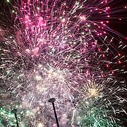 Feux d artifice des francofolies 2015 a La Rochelle