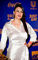 Lubna Farhan at  the British Curry Awards, at Evolution Battersea park London.