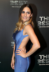 Layla Anna Lee during the Best FIFA Football Awards 2017 at the Palladium Theatre, London. PRESS ASSOCIATION Photo. Picture date: Monday October 23, 2017. See PA story SOCCER Awards. Photo credit should read: Adam Davy/PA Wire.