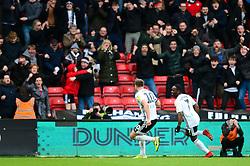 Tom Cairney of Fulham celebrates scoring a goal - Mandatory by-line: Dougie Allward/JMP - 07/03/2020 - FOOTBALL - Ashton Gate - Bristol, England - Bristol City v Fulham - Sky Bet Championship
