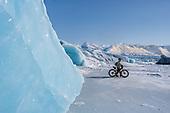Biking to Knik