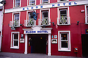 Historic Eldon Hotel, Skibbereen, County Cork, Ireland. General Michael Collins had his last meal in the Eldon Hotel before he was shot in an ambush later that evening in 1922 during the Irish civil war.