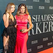 NLD/Amsterdam/20170207 - Première Fifty Shades Darker, Kim Feenstra en Maria Tailor
