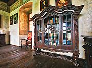Sala Pod Ptakami na zamku w Wiśniczu.