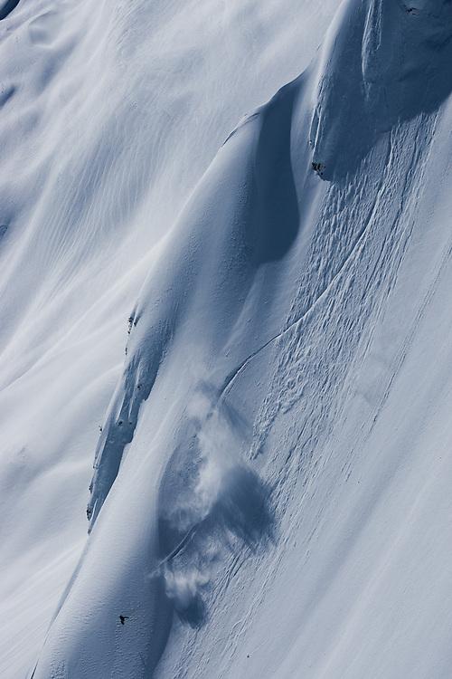 Jeremy Jones, Deeper expedition, Tantalus Glacier, Canada.