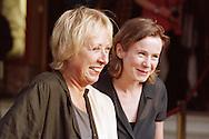 Director Marleen Gorris and actress Emily Watson attending the world premiere of her new film The Luzhin Defence at the Dominion cinema, part of the Edinburgh International Film Festival. Watson stars alongside John Turturro.