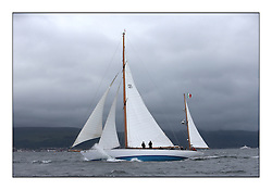 Latifa, 8, Mario Pirri, ITA, Bermudan Yawl, Wm Fife 3rd, 1936<br /> <br /> * The William Fife designed Yachts return to the birthplace of these historic yachts, the Scotland's pre-eminent yacht designer and builder for the 4th Fife Regatta on the Clyde 28th June–5th July 2013<br /> <br /> More information is available on the website: www.fiferegatta.com