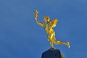 Golden Boy on top of the Manitoba Legislature