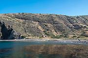 People swim at Scorpion Anchorage, Santa Cruz Island, Channel Islands National Park, California, USA.