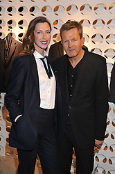 MARGOT STILLEY and NICK HART at the launch of the Spencer Hart Flagship store, Brook Steet, London on 13th September 2011.