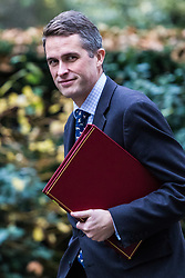 London, December 05 2017. Defence Secretary Gavin Williamson arrives at 10 Downing Street to attend the weekly cabinet meeting. © Paul Davey