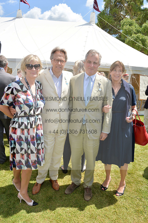 Left to right, The EARL & COUNTESS OF MARCH and VISCOUNT & VISCOUNTESS ASTOR at the Cartier hosted Style et Lux at The Goodwood Festival of Speed at Goodwood House, West Sussex on 29th June 2014.