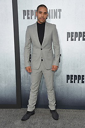August 28, 2018 - Hollywood, California, U.S. - Randy Gonzalez arrives for the premiere of the film 'Peppermint' at the Regal Cinemas LA Live theater. (Credit Image: © Lisa O'Connor/ZUMA Wire)