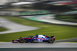 November 10, 2018 - Sao Paulo, Brazil - 10 GASLY Pierre (fra), Scuderia Toro Rosso Honda STR13, action during the 2018 Formula One World Championship, Brazil Grand Prix from November 08 to 11 in Sao Paulo, Brazil -  FIA Formula One World Championship 2018, Grand Prix of Brazil World Championship;2018;Grand Prix;Brazil  (Credit Image: © Hoch Zwei via ZUMA Wire)