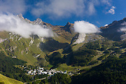 Low cloud in the mountains, National Park in the Pyrenees, Parc National des Pyrenees Occident, France