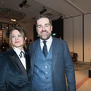 NLD/Amsterdam/20171114 - Esquire's Best Dressed Man 2017, Klaas Dijkhoff en partner Anouk