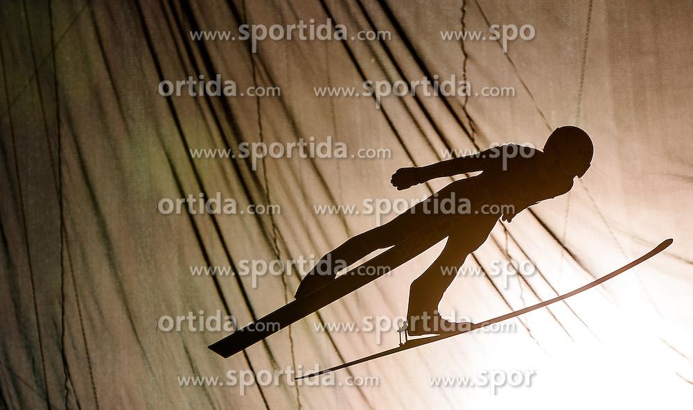 01.01.2014, Olympiaschanze, Garmisch Partenkirchen, GER, FIS Ski Sprung Weltcup, 62. Vierschanzentournee, Probesprung, im Bild Marinus Kraus (GER)/ / Marinus Kraus (GER) during Trial Jump of 62nd Four Hills Tournament of FIS Ski Jumping World Cup at the Olympiaschanze, Garmisch Partenkirchen, Germany on 2014/01/01. EXPA Pictures © 2014, PhotoCredit: EXPA/ JFK