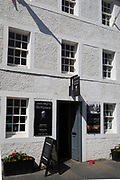 """The birthplace home of American environmentalist, John Muir on 27th June 2019, in Dunbar, East Lothian, Scotland. John Muir (1838–1914) also known as """"John of the Mountains"""" and """"Father of the National Parks"""" was an influential Scottish-American naturalist, author, environmental philosopher, glaciologist, and early advocate for the preservation of wilderness in the United States of America but spent his childhood in Dunbar until emigrating to America at the age of 11."""