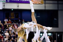 Cheerleaders Dragon Ladies at Group C of Euroleague basketball match between KK Union Olimpija, Slovenia and Caja Laboral, Spain, on November 5, 2009, in Arena Tivoli, Ljubljana, Slovenia.  (Photo by Vid Ponikvar / Sportida)