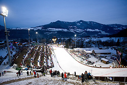 Large Hill at the FIS Ski Jumping World Cup event of the 58th Four Hills ski jumping tournament, on January 5, 2010 in Bischofshofen, Austria. (Photo by Vid Ponikvar / Sportida)
