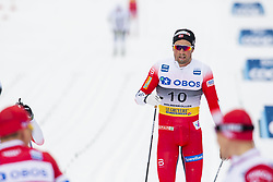 March 9, 2019 - Oslo, NORWAY - 190309 Emil Iversen of Norway looks dejected after the men's 50 km classic technique during the FIS Cross-Country World Cup on March 9, 2019 in Oslo..Photo: Fredrik Varfjell / BILDBYRÃ…N / kod FV / 150211. (Credit Image: © Fredrik Varfjell/Bildbyran via ZUMA Press)