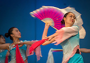 Members of the Bejing Normal University Art Troupe perform for students to celebrate Confucius World Day at Kingdom Builders, September 22, 2016.