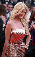 Victoria Silvstedt at the Two Days, One Night (Deux Jours, Une Nuit) gala screening red carpet at the 67th Cannes Film Festival France. Tuesday 20th May 2014 in Cannes Film Festival, France.