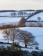 The first snow of 2015 for Exmoor.