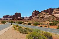 Arches National Park,Utah,USA, Natural Rock formations.