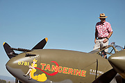Brent Conner and Lockheed P-38L Lightning.