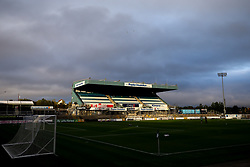 A general view of the Memorial Stadium, home to Bristol Rovers - Mandatory by-line: Robbie Stephenson/JMP - 08/09/2020 - FOOTBALL - Memorial Stadium - Bristol, England - Bristol Rovers v Walsall - Leasing.com Trophy