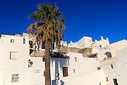 Pueblo blanco historic village whitewashed houses , Vejer de la Frontera, Cadiz Province, Spain