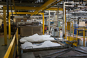 Acid baths for metal in the steel industries workshop of HMP Coldingley. Surrey,  United Kingdom. HMP Coldingley is a category C training prison, focussed on the resettlement of prisoners. All inmates must work a full working week, within the prison grounds.