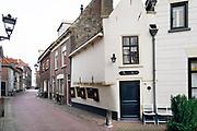 Nederland, the Netherlands, 14-1-2018Beelden uit de historische binnenstad van Kampen . Hier stond vroeger de Theologische Universiteit, tegenwoordig omgedoopt tot hogeschool . De stad ligt aan de IJssel en was een hanzestad .Foto: Flip Franssen