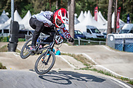 #48 (GRAF David) SUI during practice at Round 5 of the 2018 UCI BMX Superscross World Cup in Zolder, Belgium