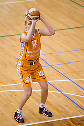 Natallia Tratsiak of Hit  at 4th final match of Slovenian women basketball 1st league between Hit Kranjska Gora and ZKK Merkur Celje, on May 13, 2010, in Arena Vitranc, Kranjska Gora, Slovenia. Celje defeated Kr. Gora 71-60 and the result after 4th match is 2-2. (Photo by Vid Ponikvar / Sportida)