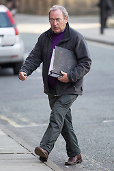 © Licensed to London News Pictures . 03/02/2015 . Manchester , UK . TV weatherman FRED TALBOT ( aka Fred the Weatherman ) arrives at Manchester's Minshull Street Crown Court this morning (Tuesday 3rd February 2015) . Talbot is charged with 10 historical counts of indecent assault and 1 count of sexual assault whilst a teacher at Altrincham Grammar School for Boys . Photo credit : Joel Goodman/LNP