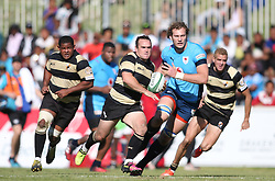 Marnus Hugo of Boland on the attack during the Currie Cup premier division match between the Boland Cavaliers and The Blue Bulls held at Boland Stadium, Wellington, South Africa on the 23rd September 2016<br /> <br /> Photo by:   Shaun Roy/ Real Time Images