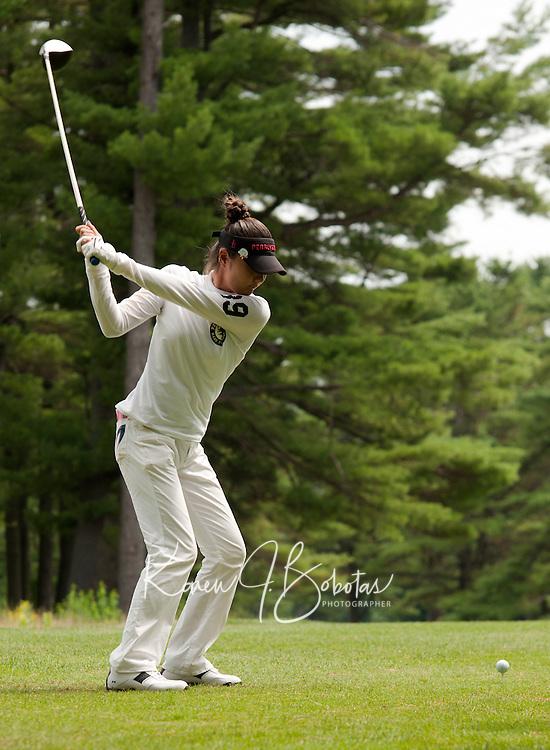 Ayaka Kaneko during LPGA Futures Tour Saturday, July 23rd.  (Karen Bobotas/for the Concord Monitor)LPGA Futures Tour at Beaver Meadow Golf Course in Concord, NH July 23, 2011.
