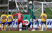 Fotball <br /> OBOS-ligaen 2015<br /> Jerv v Brann<br /> 27.04.2015<br /> Foto: Anders Hoven/Digitalsport<br /> <br /> Nils Kenneth Udjus - keeper Brann