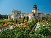 Zespół pałacowo-parkowy w Wilanowie, Warszawa, Polska<br /> Palace and park complex in Wilanow, Warsaw, Poland