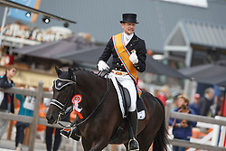 Gal Edaward, Werner Nicole, (NED), Glock's Undercover<br /> Kingsley Donadeo Prijs grand Prix Kur<br /> Dutch Championship Dressage - Ermelo 2015<br /> © Hippo Foto - Dirk Caremans<br /> 19/07/15
