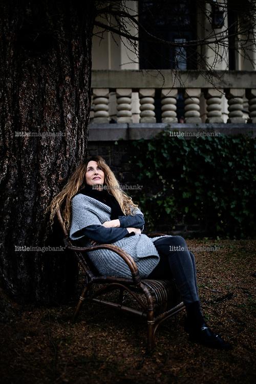 Oslo, Norge, 23.01.2020. Vibeke Løkkeberg fotografert hjemme hos henne på Skillebekk. Foto: Christopher Olssøn.